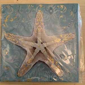 Starfish Wall Art Canvas